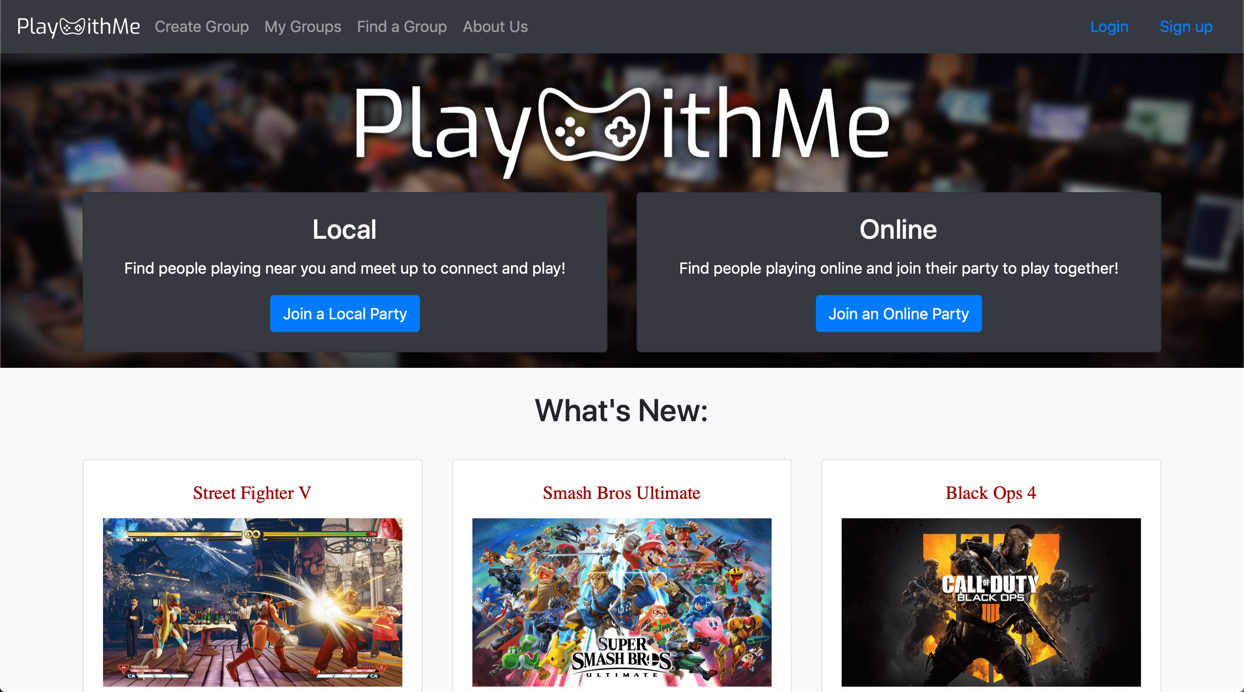 PlayWithMe screenshot